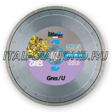 Диск алмазный 1А1R ItalDiamant 200х2,2х10х25,4 GRES/U 3220269H