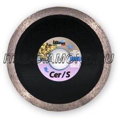 Диск алмазный 1A1R сплошной ItalDiamant 115х1,6х7х22,2 CER/S 0214669