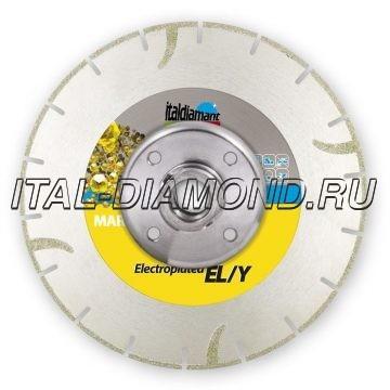 Диск алмазный 1А1RSS гальванический ItalDiamant 125х1,2х3хM14 EL-Y 3812569Y-CF