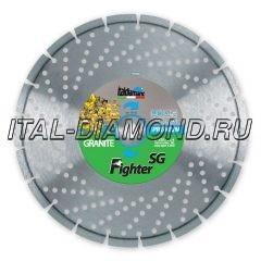 Диск алмазный 1А1RSS ItalDiamant 400х3,8х10х25,4 FIGHTER SG 24342F8H