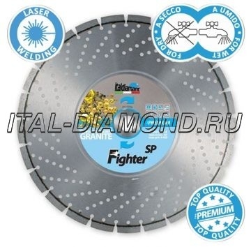 Диск алмазный 1А1RSS ItalDiamant 400х3,8х10х25,4 FIGHTER SP 24357F8H (D)