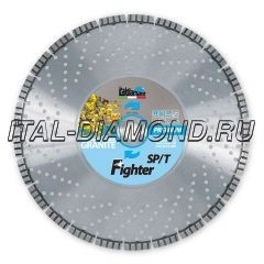 Диск алмазный 1А1RSS ItalDiamant 400х3,8х10х25,4 FIGHTER TURBO SP/T 24357P8H