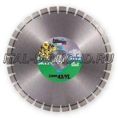Диск алмазный 1А1RSS ItalDiamant 500х3,8х15х60 LASER 43/YL 4350671