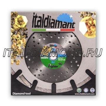 Диск алмазный 1А1RSS сегментный ItalDiamant 125х2,2х9х22,2 SG 94542F6H-CF