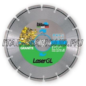 Диск алмазный 1А1RSS сегментный ItalDiamant 180х2,4х7х22,2 GL 9485301