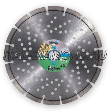 Диск алмазный 1А1RSS сегментный ItalDiamant 230х2,8х10х22,2 SG 94342F7D
