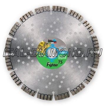 Диск алмазный 1А1RSS турбо-сегментный ItalDiamant 230х2,6х12х22,2 FIGHTER TS TURBO SPEED 943S2P7L