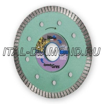 Диск алмазный Turbo ItalDiamant 115х1,5х7х22,2 GRES/Speedy 3411969