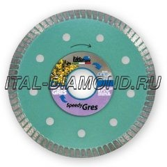 Диск алмазный Turbo ItalDiamant 125х1,5х7х22,2 GRES/Speedy 3412969