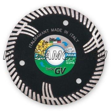 Диск алмазный Turbo ItalDiamant 125х2,6х9х22,2 GV 3412669