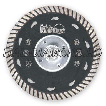 Круг алмазный подрезной ItalDiamant 125х2.8хМ14 TAGLIA e LEVIGA 1412502